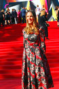 Kira plastinina at moscow film festival fashion designer xxxv international red carpet opening ceremony taken on in russia Stock Images