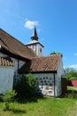Kirche heiligenwalde in uschakowo kaliningrad region Royalty Free Stock Image
