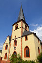 Kirche St Martin in Linz, Germany Stock Photos