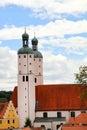 Kirche in Wemding Stockfoto
