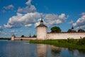 Kirillov abbey Royalty Free Stock Photo