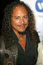 Kirk hammett warner music group s post grammy party pacifif design center west hollywood ca Royalty Free Stock Photo