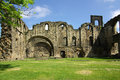Kirkstall abbey leeds uk in in summer day Stock Photo