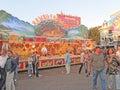 Kirmes Summer Fair in Dusseldorf Germany Stock Photography