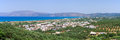 Kissamos (Kastelli) town on Crete, Greece Royalty Free Stock Photo