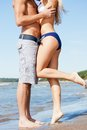 Kissing man and woman closeup picture of men Royalty Free Stock Photography