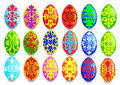 Kit egg with pattern Royalty Free Stock Photography