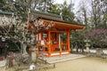 Kitano tenmangu temple Kyoto Japan Royalty Free Stock Photo
