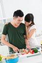 Kitchen date Stock Images