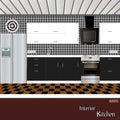 Kitchen design white