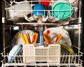 Kitchen dishwasher Stock Image