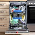Kitchen Dishwasher Royalty Free Stock Photo