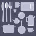 Kitchen Items – Vector illustration Royalty Free Stock Photo