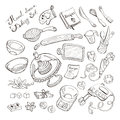 Kitchen items for baking