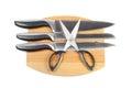 Kitchen knifes set Royalty Free Stock Photo