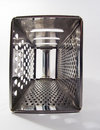 Kitchen metal grater Royalty Free Stock Image