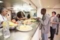 Kitchen Serving Food In Homele...