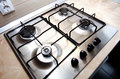 Kitchen stove Royalty Free Stock Photo
