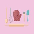 Kitchen Stuff Vector Royalty Free Stock Photo