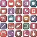 Kitchen symbols Royalty Free Stock Photography