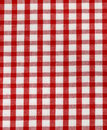 Kitchen towel in the red checkered use as a background Stock Photography