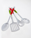 Kitchen utensil set of cooking helper tools Royalty Free Stock Images
