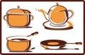 Kitchen  utensil, vector Royalty Free Stock Photo