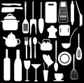 Kitchen utensils Stock Photos