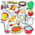 Kitchen Utensils Cooking Scrapbook Stickers