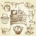 Kitchenware Royalty Free Stock Photos