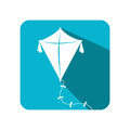 Kite baby toy icon