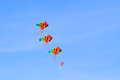 Kite  on  blue sky Stock Image