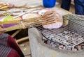 Kite cracker snack Royalty Free Stock Photo