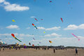 Kite festival weston super mare somerset england june th colourful kites attracted crowds at the first on sunday th june Stock Photo