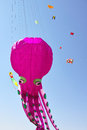 Kite game the third friend cup competition held in taiyuan china the giant octopus hop off Stock Images