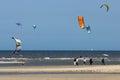 Kite Surfers Royalty Free Stock Photo