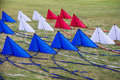 Kites in thailand cultural festival Royalty Free Stock Photography