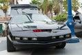 Kitt Knight Rider car on display Royalty Free Stock Photo