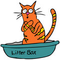 Kitty Litterbox Stock Photos
