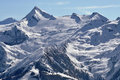 Kitzsteinhorn peak and ski resort, Austria Royalty Free Stock Photos