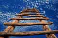 Kiva Ladder to the Sky Royalty Free Stock Photo