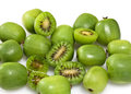 Kiwi Berry or Actinidia arguta Stock Image