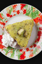 Kiwi bite size Cake Royalty Free Stock Photo