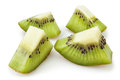 Kiwi chunks Royalty Free Stock Photography