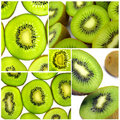 Kiwi composition Royalty Free Stock Image
