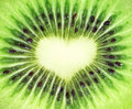 Kiwi fruit close-up Royalty Free Stock Images