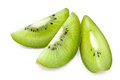 Kiwi fruit close up isolated closeup of juicy chinese gooseberry Stock Photos