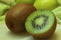 Kiwi Fruit Closeup 2 Royalty Free Stock Photo