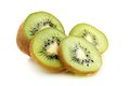 Kiwi fruit is cut into slices. Royalty Free Stock Photo