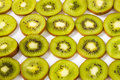 Kiwi fruit fresh fruits on a white background Royalty Free Stock Image